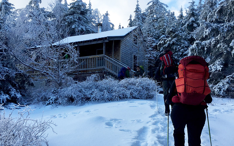 Cabin Feverish: Visiting Backcountry Cabins in Winter