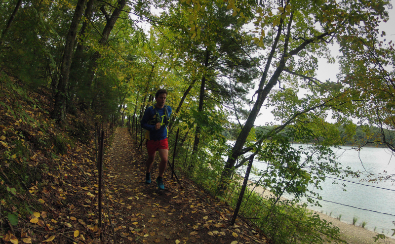 Trail Running at Walden Pond