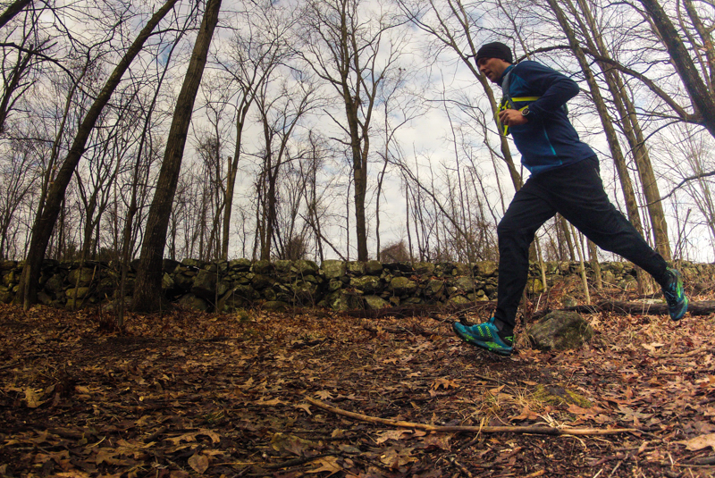Trail Running at Mary Cummings Park