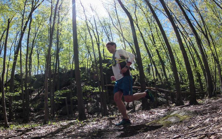 trail running in chestnut hill