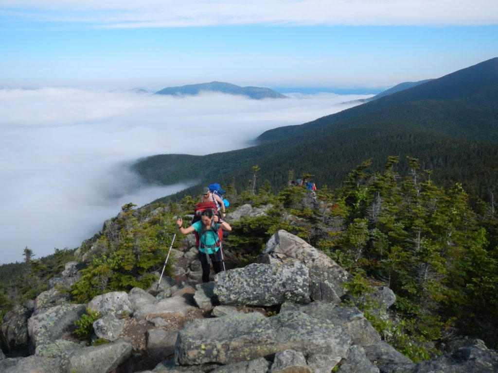 Hiking in the White Mountains of New Hampshire